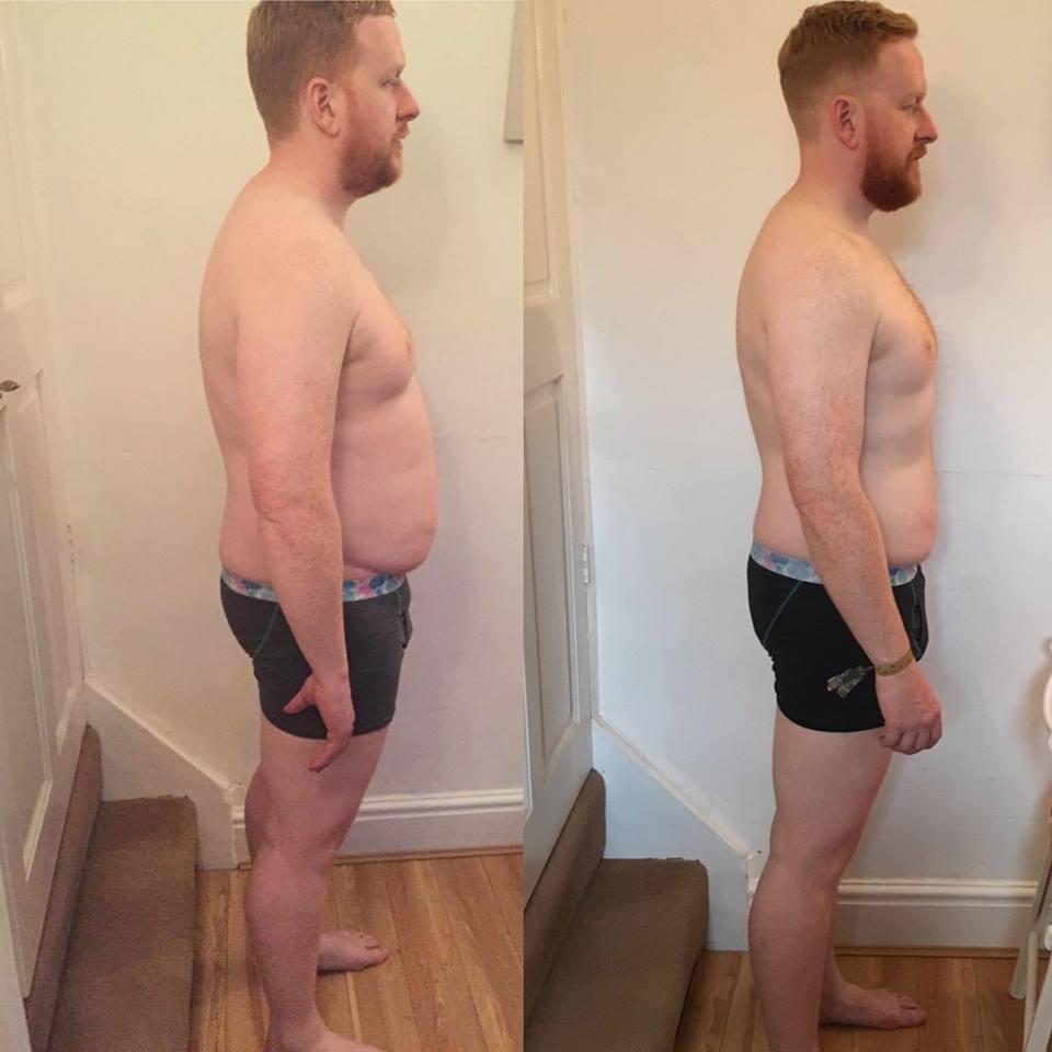 Matthew Williamson Transformation Side pose